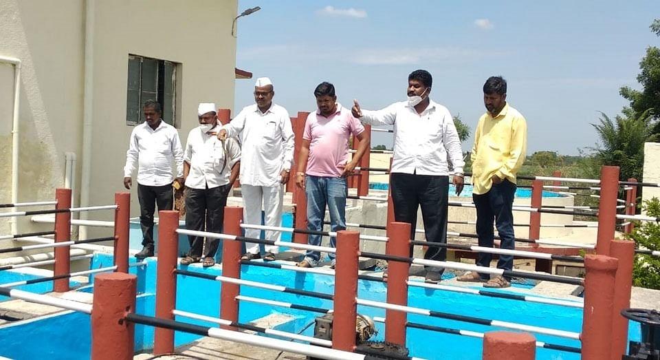 पाणी पुरवठा योजनेचा फिल्टर प्लांट बंद