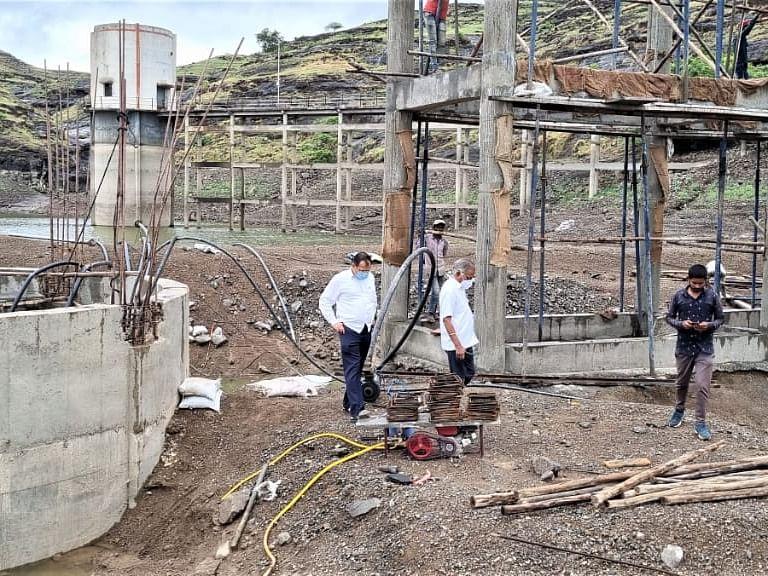 निमोणसह ५ गावांना ग्रॅव्हिटीद्वारे भोजापूर धरणाचे पाणी मिळणार