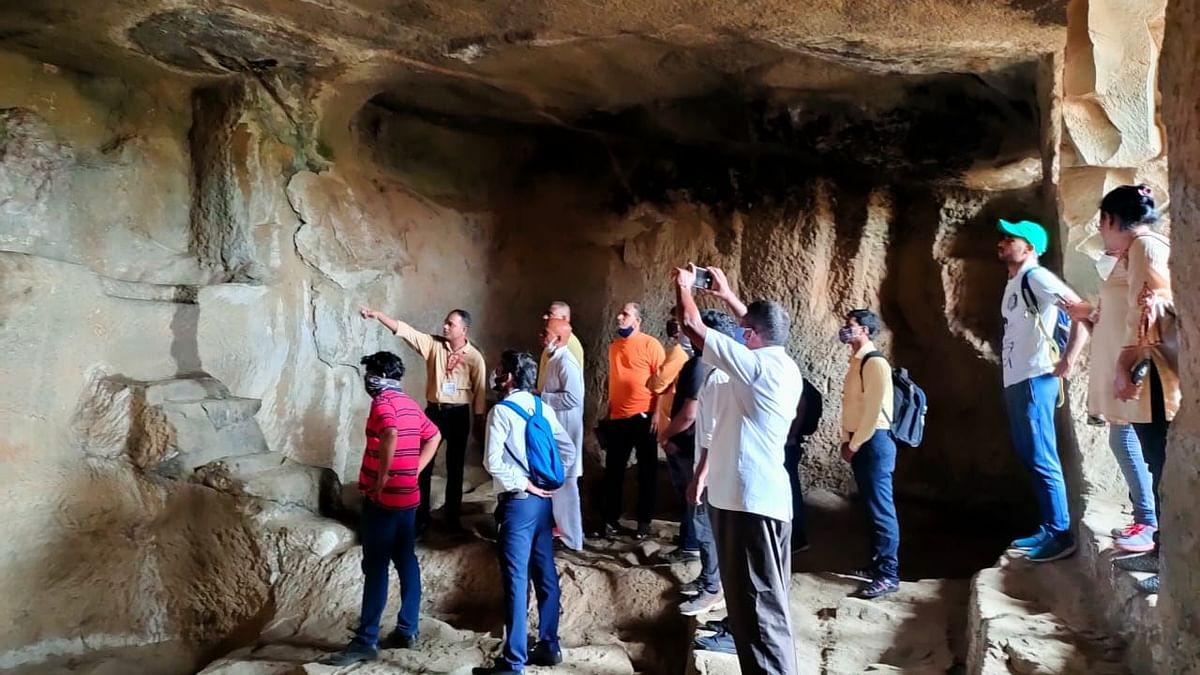 Reliving history of Trirashmi Caves