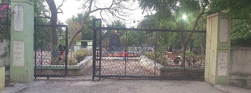 संगमनेरातील इंदिरा गांधी गार्डन बनलयं मद्यपींचा अड्डा
