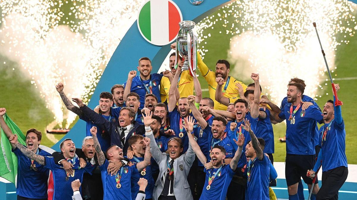 Euro Cup 2020 : यूरो चषकावर 'इटली'ने कोरले नाव, इंग्लंडचा स्वप्नभंग
