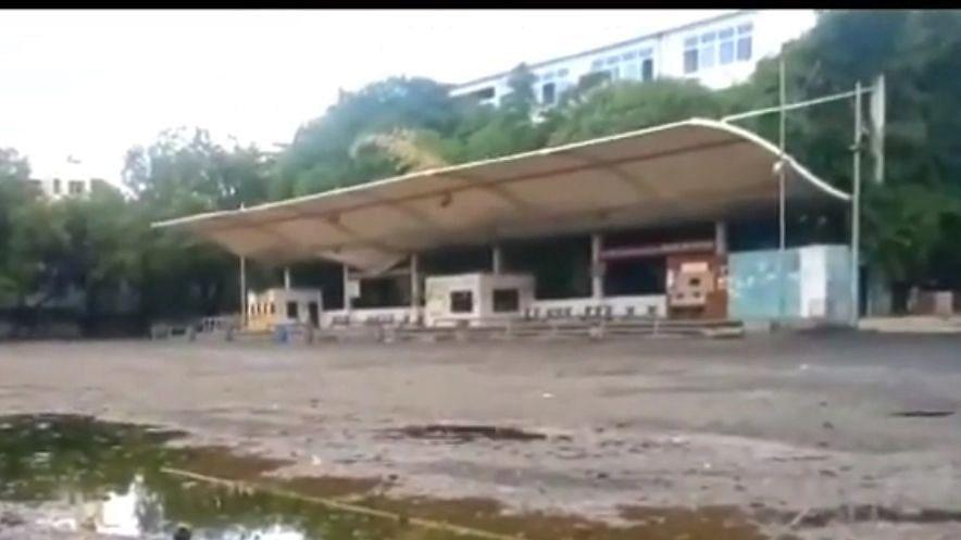 Nimani bus stand needs repair
