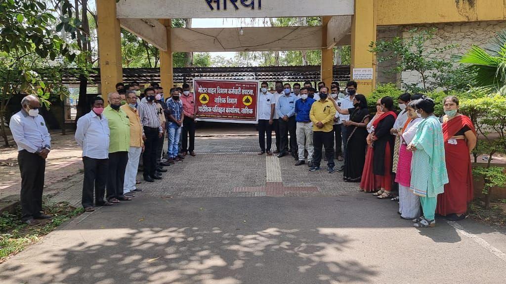 RTO staff protests privatisation move