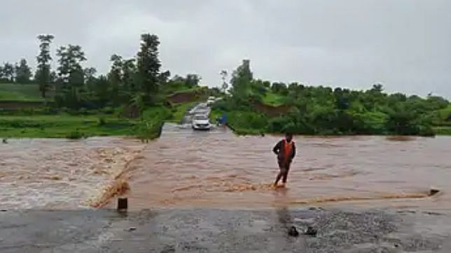 Heavy rains cut off villages in rain-drenched Surgana