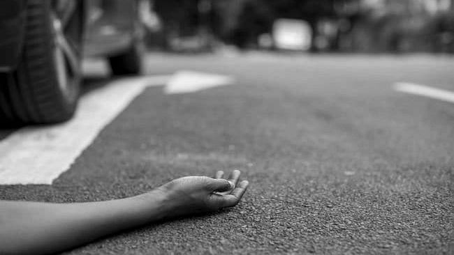 A youngster killed in a road accident