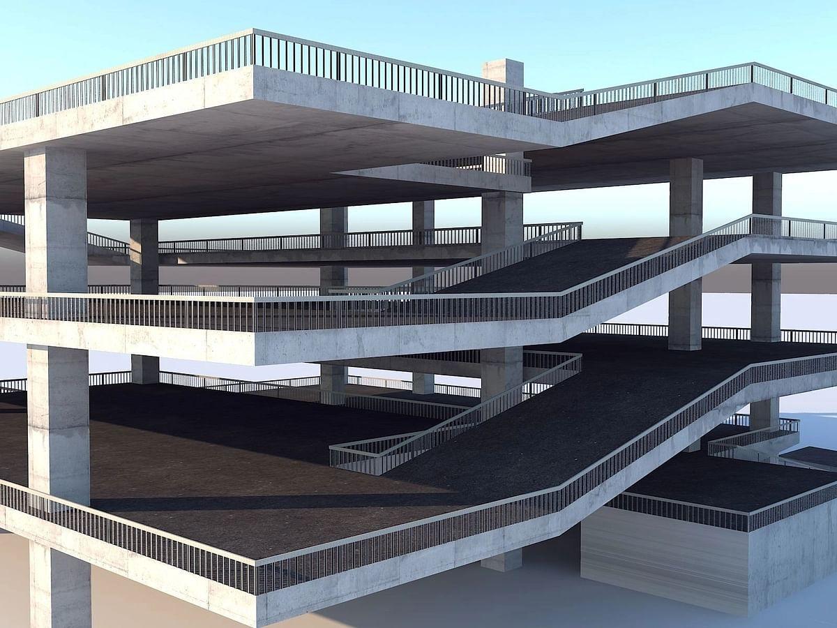 औरंगाबादमध्ये होणार पहिली 'मल्टी स्टोअरेज पार्किंग'