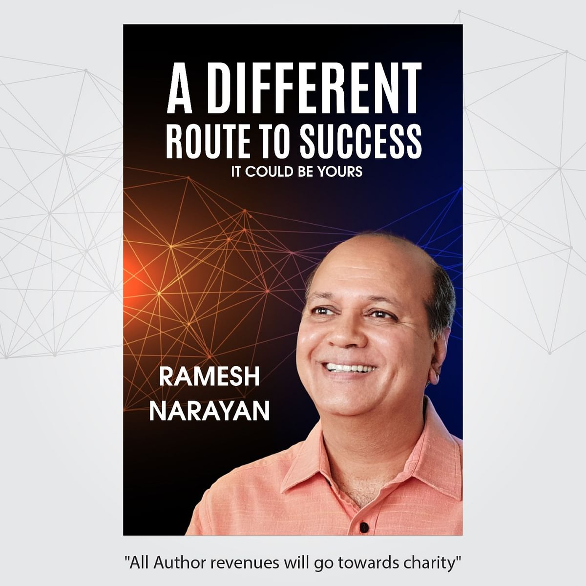 Ramesh Narayan releases book  'A Different Route to Success'