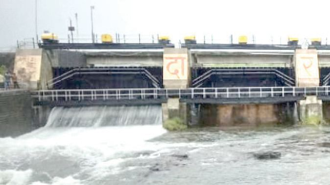 गोदावरी नदीतील विसर्ग 4791 क्युसेकवर