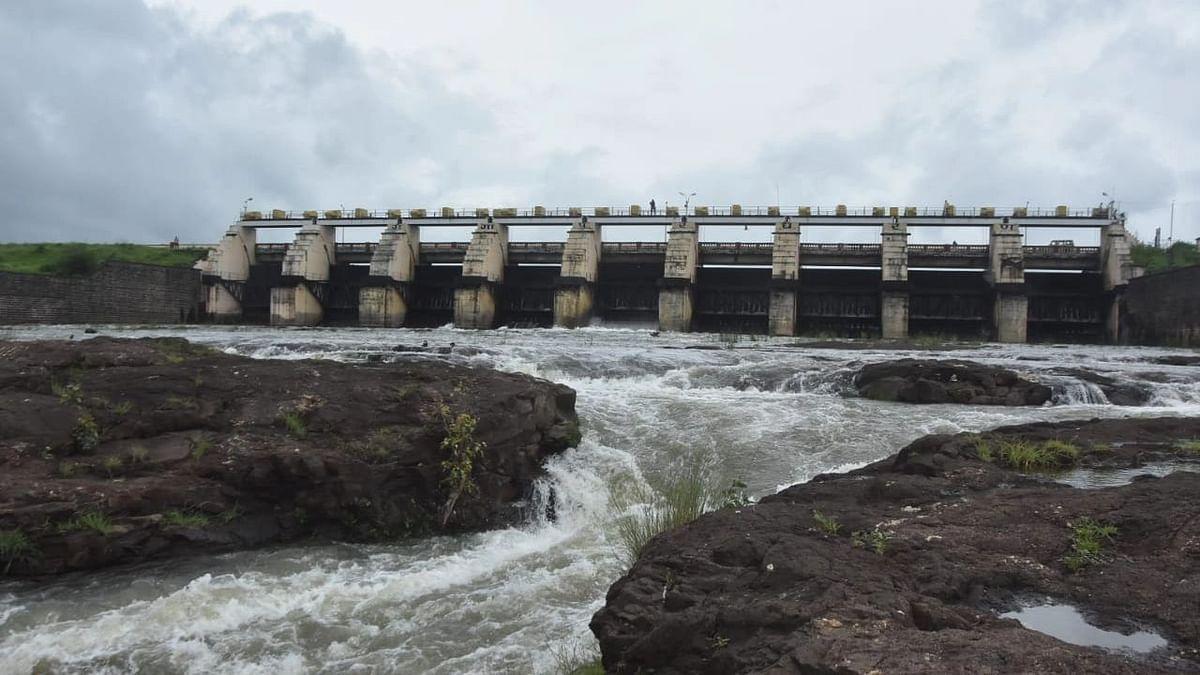 Gangapur Dam's water level rises
