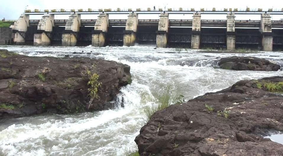 Gangapur Dam 49.71% full