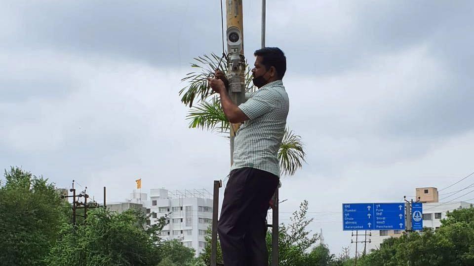 CCTV camera installed in NMC's ward No 1