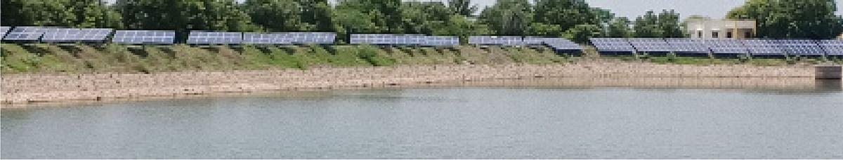 शिर्डीतील साठवण तलावावर सोलर वीजनिर्मिती