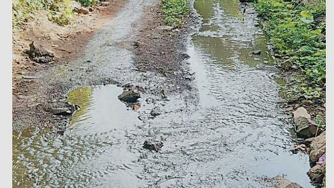 Stop untreated sewage discharge into nalla