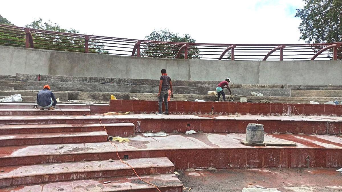 सेंट्रल पार्क चे काम अंतिम टप्प्यात