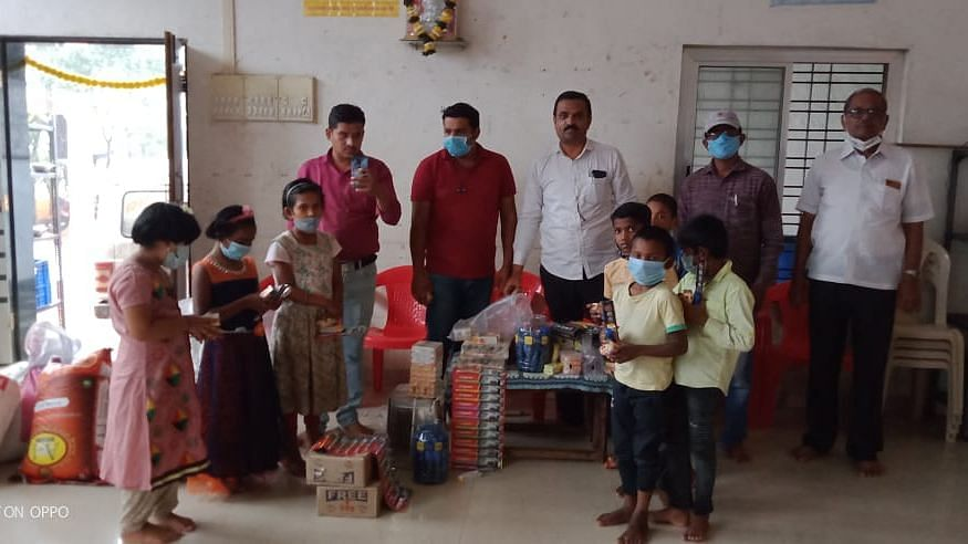 Helping hand to orphan children
