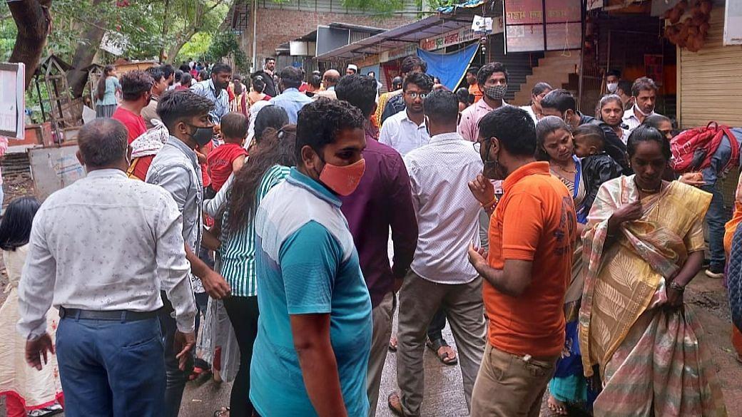 Video : गणपती बाप्पा मोरया! दर्शनासाठी भाविकांची मोठी गर्दी