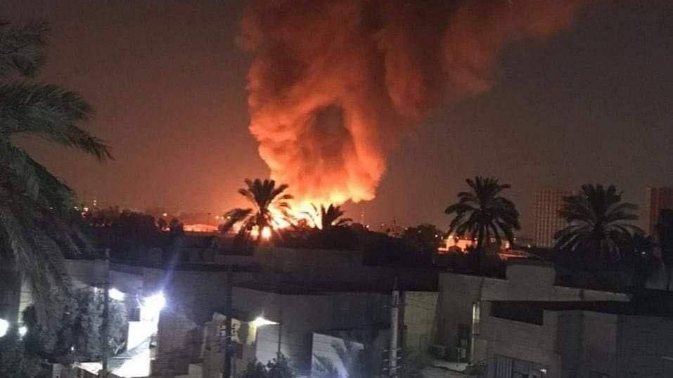 धक्कादायक! कोविड रुग्णालयाला भीषण आग; ५२ रुग्णांचा होरपळून मृत्यू