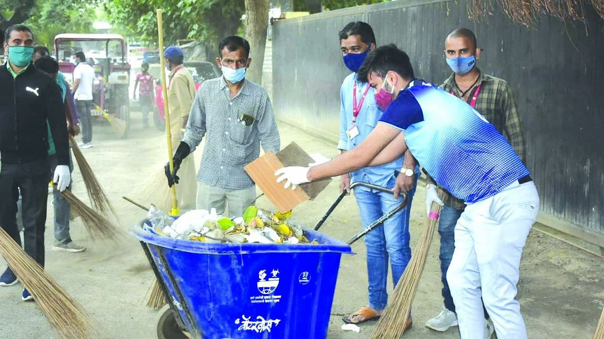 Five tonnes of waste collected