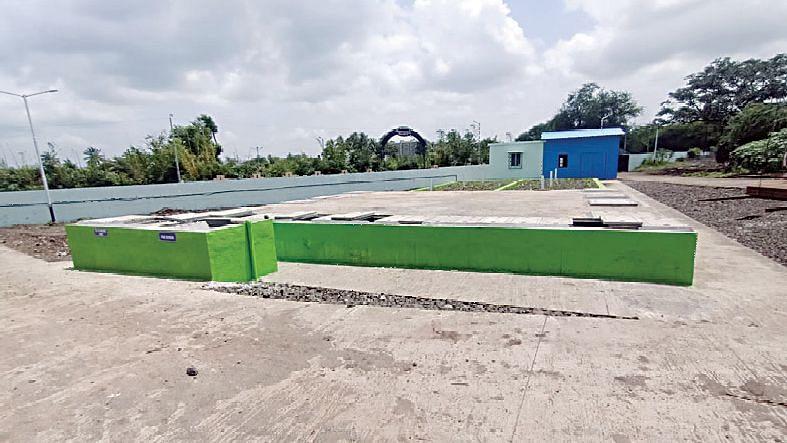 रेल्वे स्थानक परिसरात जलशुद्धीकरण यंत्रणा