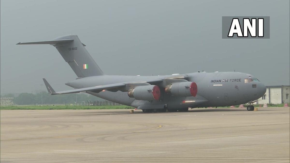 Afghanistan Crisis : १६८ जणांना घेऊन IAF चं विमान भारतात दाखल
