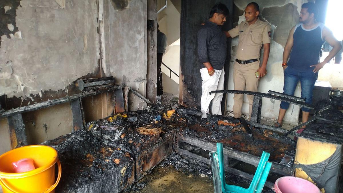 रिक्षाचालकाने घरात घुसुन लावली आग, पंचवटीतील घटना