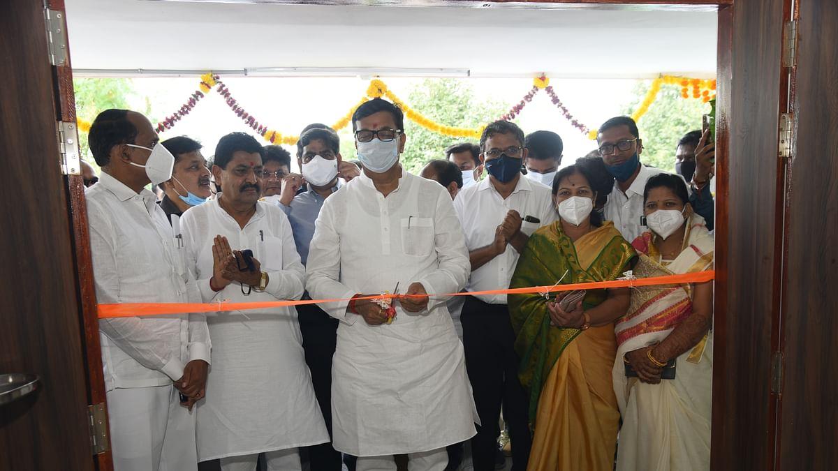 श्रीरामपुरात सर्वात्त चांगले कोविड सेंटर व ऑक्सीजन प्लांटची उभारणी - ना. थोरात