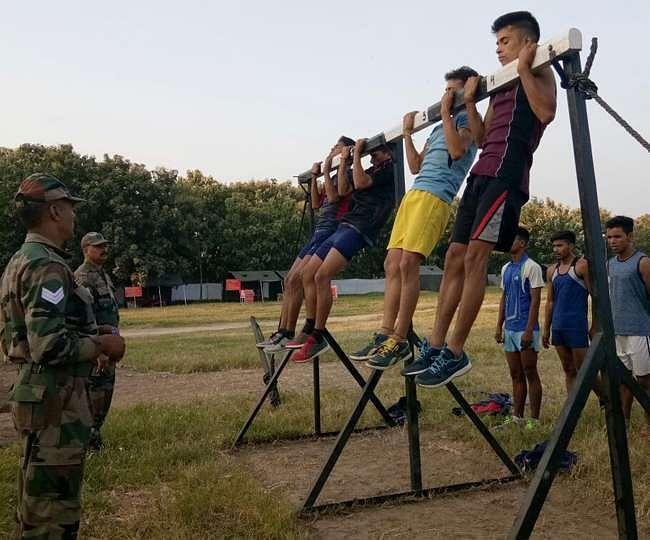 राहुरी कृषी विद्यापीठ येथे होणारी सैन्यभरती लांबणीवर