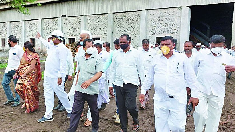 रानवड कारखाना हंगामाला दिवाळी मुहूर्त