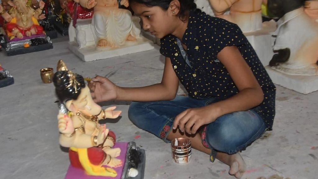 Website for shadu clay Ganesh idol sale