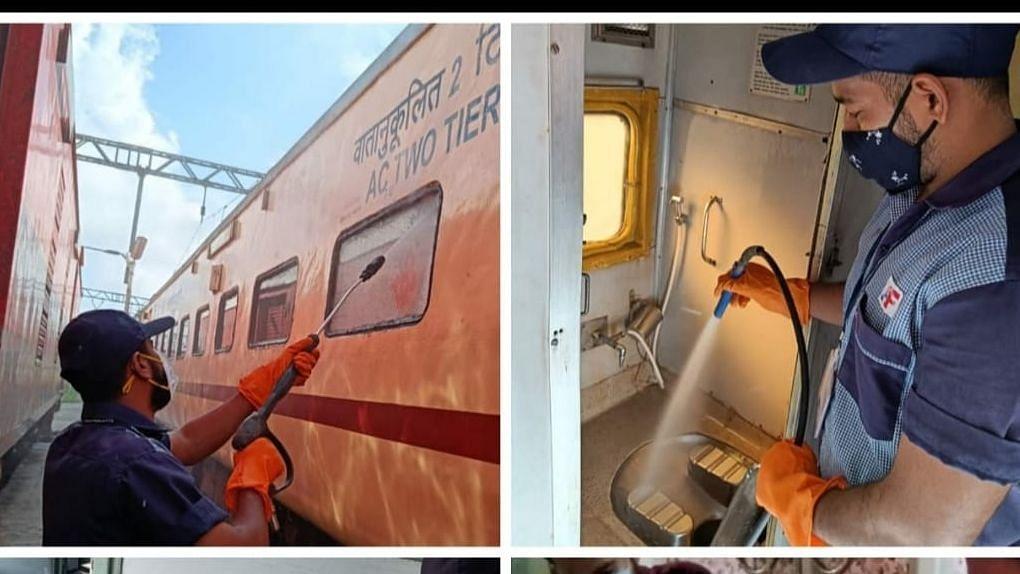 CR observes 'Swaccha Railgadi, Swaccha Parisar'