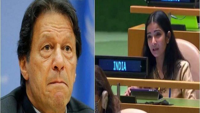 UNGA मध्ये भारतानं पाकिस्तानला तिखट शब्दांमध्ये सुनावलं, पाहा Video