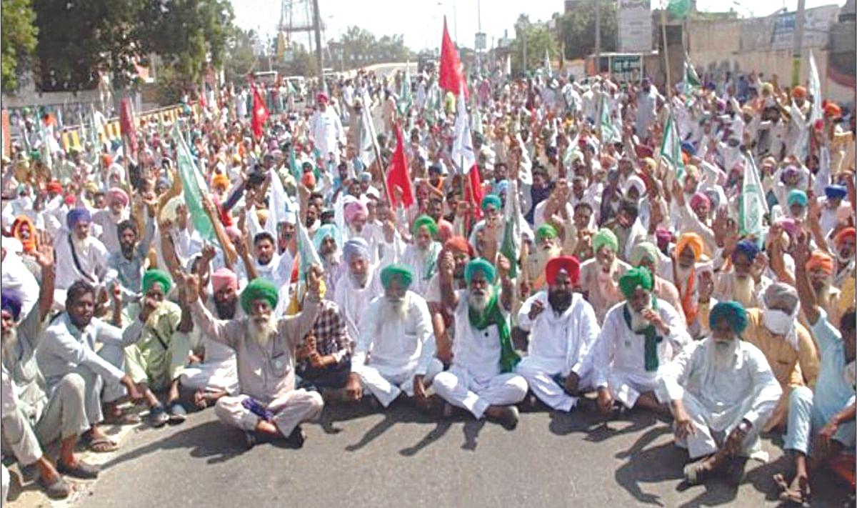 शेतकरी आंदोलनाला राजकारणाचे ग्रहण