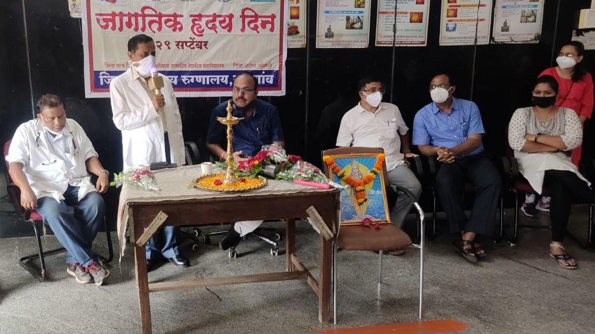 जागतिक हृदय दिन ; धूम्रपानापासून दूर रहा-अधिष्ठाता डॉ.मिलिंद फुलपाटील