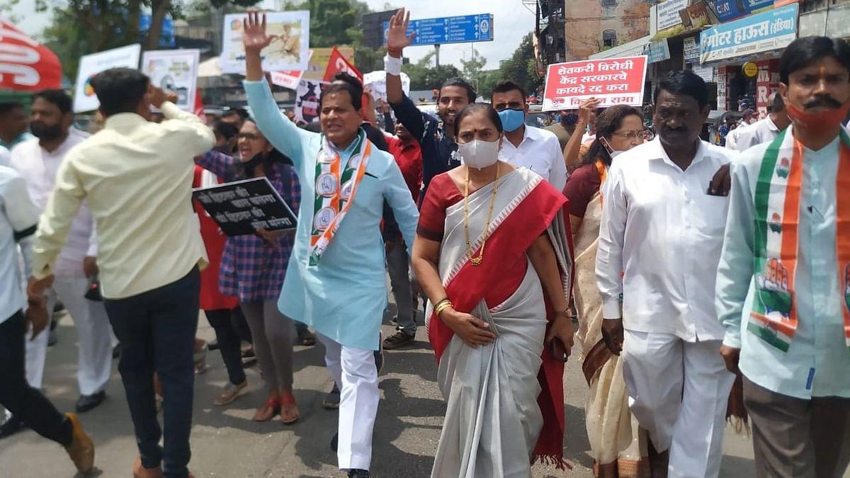 Video/Photo : भारत बंदचे पडसाद; ठिकठिकाणी निदर्शने