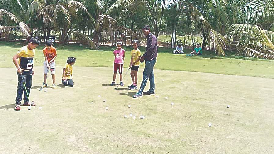 Golf training starts for selected players