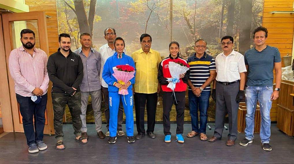 नाशिकच्या सायली व तनिशाची आंतरराष्ट्रीय टेबल टेनिस स्पर्धेसाठी निवड