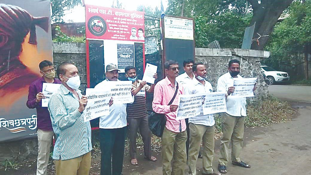 ST employees agitate for pending salary