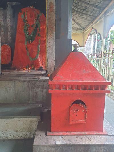 सोनईतील मारुती मंदिराची दानपेटी फोडली