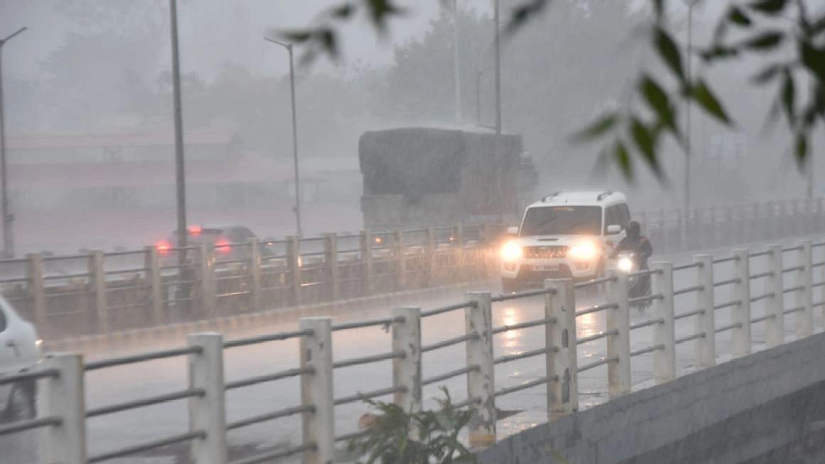 Orange alert; 273 mm rainfall in the district