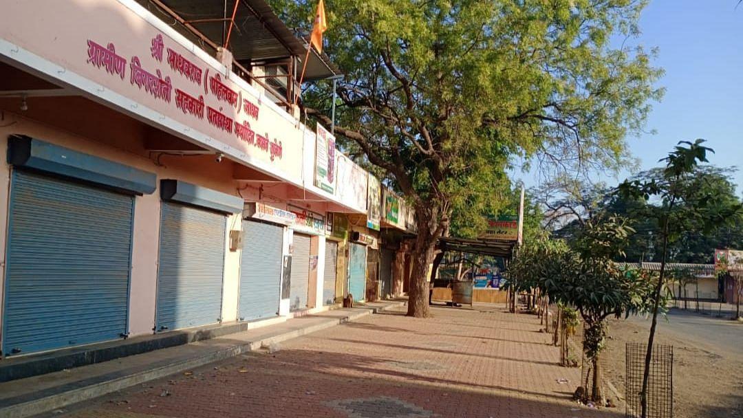 महाराष्ट्र बंद :  कसबे सुकेणेत कडकडीत बंद