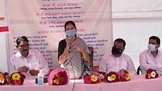 आरोग्य सेवकांमुळे करोनावर मात-  केंद्रीय आरोग्य राज्यमंत्री डॉ. भारती पवार