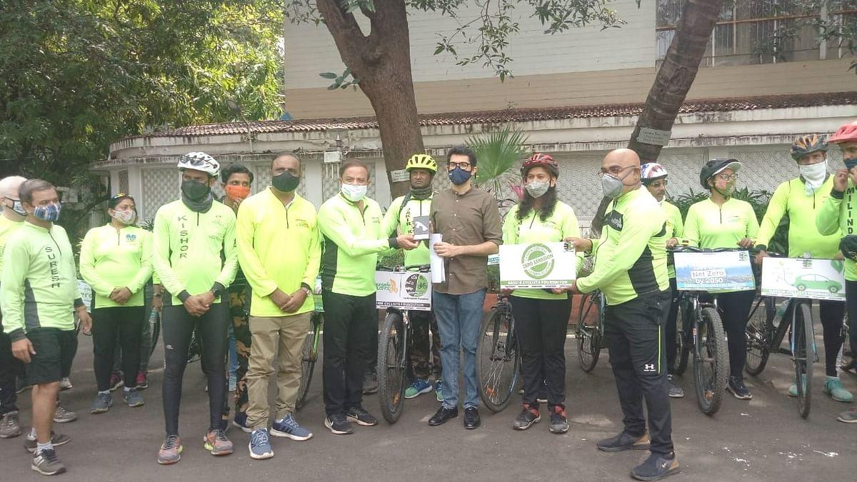 नेट झिरो इंडिया सायकल मोहिमेस प्रारंभ