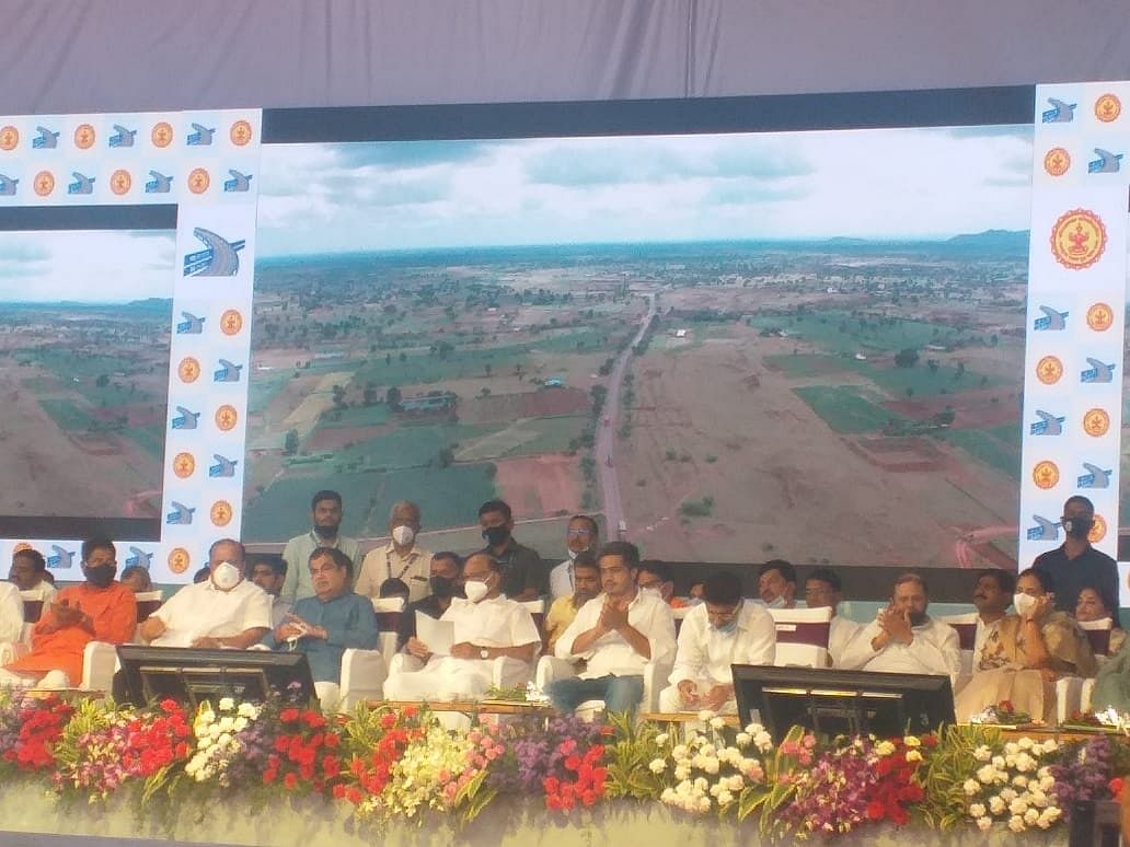 केंद्रीय मंत्री नितीन गडकरी यांच्या हस्ते सहा प्रकल्पांचे भूमिपूजन आणि पाच रस्त्यांचे लोकापर्ण