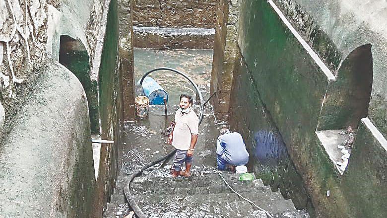 Renuka Mata Mandir's stepwell cleaned
