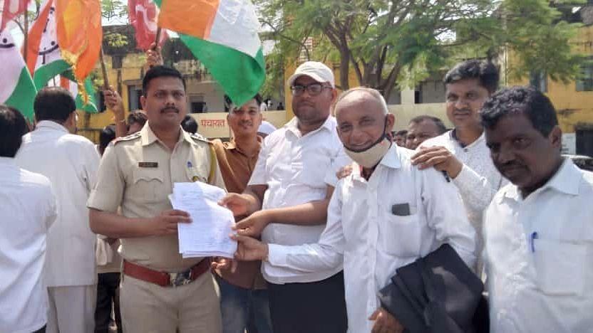 महाराष्ट्र बंद : पेठ तालुक्यात संमिश्र प्रतिसाद