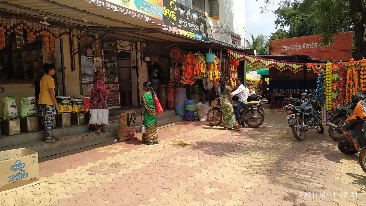 पारनेरमध्ये 'महाराष्ट्र बंद'ला अल्प प्रतिसाद, पाहा फोटो