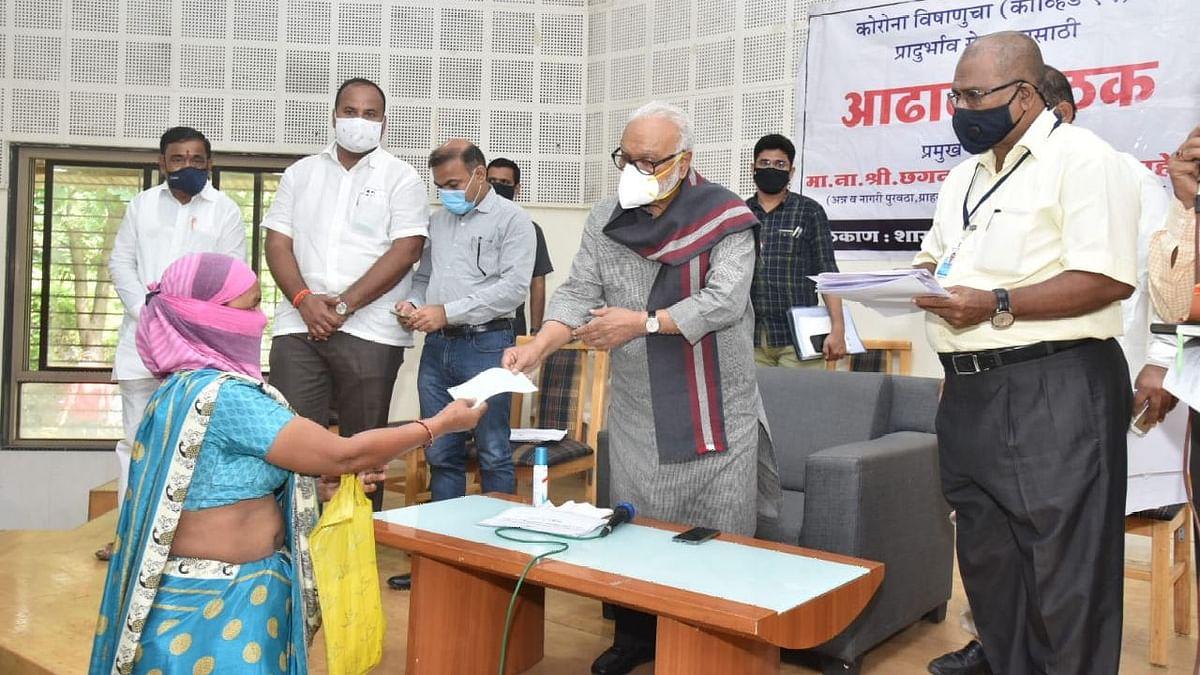 'कवच-कुंडल' मोहिमेअंतर्गत लसीकरण वाढवा - पालकमंत्री छगन भुजबळ