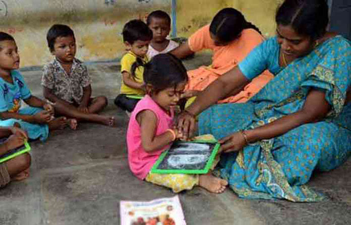 1034 posts of Anganwadi workers, assistants vacant