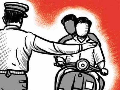 पोलिसांकडून ६ हजार नागरिकांवर कारवाई