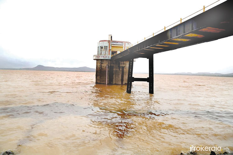 Water stock in district dams nearly 4-times more than last year